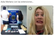 Memes de la captura de Aida Merlano