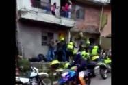 El hecho dejó seis personas capturadas en el barrio Popular.