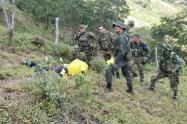 Combates en Ituango, Antioquia