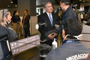 Presidente Iván Duque en Migración Colombia por coronavirus