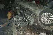 Explosión de vehículo en Cauca