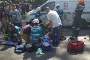 Dos motociclistas fallecidos y un niño herido, dejaron accidentes de tránsito