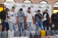 En una vivienda del barrio Moravia Medellín fabricaban más de 600 botellas de licor adulterado