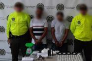 Estas personas están sindicadas de realizar actos sicariales en este municipio del Norte del Valle de Aburrá.