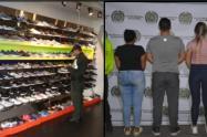 La mercancía ilegal está valorada en 290 millones de pesos, informaron las autoridades. Tres personas fueron capturadas en este operativo