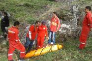 Caso del parapentista fallecido en Jericó, Antioquia
