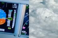 Piloto colombiano habría captado un ovni volando sobre Medellín