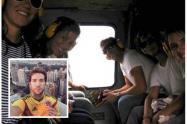 Los golpes de pecho Martin Santos por haber viajado en helicópteros de FFMM con unos amigos