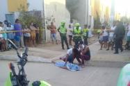 Mujer que salió a ver una pelea terminó muerta con una bala en la cabeza