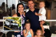 Exjugador de rugby incineró a su exesposa e hijos de 3, 4 y 6 años