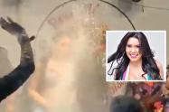 Ana del Castillo y la pelea con una espectadora en pleno concierto