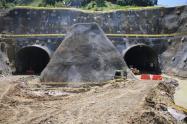 Túnel de la Quiebra, en Santo Domingo, Antioquia