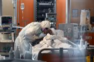Coronavirus en hospital