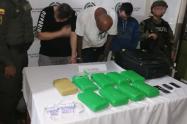 Los detenidos fueron dejados ante la Fiscalía General de la Nación.