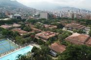 Panorámica del campus central de la Universidad de Antioquia