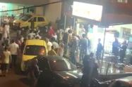 Una persona muerta y dos más heridas dejó balacera en una panadería en el barrio Castilla, norocccidente de Medellín