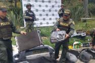 Encuentran un desguazadero de vehículos hurtados en una casa del corregimiento de Santa Elena