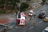 Un bus arrolló a dos personas en el barrio Robledo de Medellín