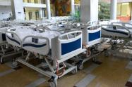 Referencia camas de cuidados intensivos.
