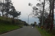 El cuerpo presentaba varios lesiones por arma de fuego.