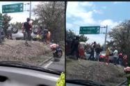 Las autoridades contemplan varias hipótesis sobre este accidente de tránsito.