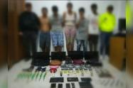 Entre los detenidos, aparece el señalado cabecilla de la banda criminal Los Pamplona.