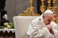 El Papa Francisco convocó una oración mundial para superar el coronavirus