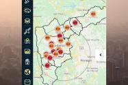 Ocho estaciones de monitoreo de la calidad del aire en Medellín están en nivel rojo