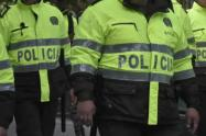 8 policías fueron agredidos por un hombre con sospecha de coronavirus en Sabaneta