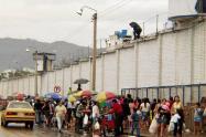 También fueron suspendidas las diligencia de los abogados en los centros penitenciarios.