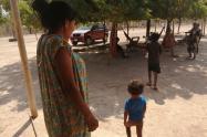 Niños con desnutrición en La Guajira