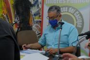 Luis Alberto Balsero, alcalde de Calarcá