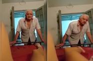 Abuelo acosador