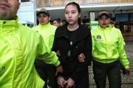 Hija de la exsenadora y prófuga, Aida Merlano