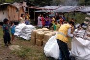 Por cuarentena, 116 mil familias desplazadas recibirán ayudas humanitarias