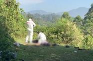 Los hechos violentos se presentaron en los municipios de Ebéjico y Caucasia.