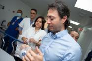 Alcalde de Medellín, Daniel Quintero, durante la pandemia del coronavirus