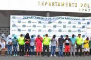 Las detenciones han sido por varios delitos, señalaron las autoridades.