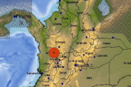 Sismo de magnitud 5,0 tuvo como epicentro el municipio de Betania, Antioquia