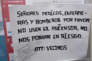 Discriminaron a personal médico en urbanización en Medellín