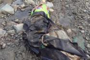 Amarrada De pies y manos encuentran cadáver de una mujer en Medellín