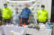 Policía captura a dos presuntos integrantes del ELN en el norte antioqueño