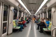 El Metro de Medellín restringirá el ingreso de pasajeros a las estaciones cuando alcance el 35% de su capacidad