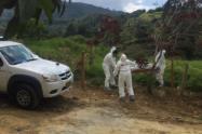 Las autoridades investigan si este cuerpo pertenece a un hombre que se encuentra reportado como desaparecido.