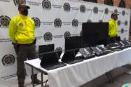 Autoridades recuperan elementos hurtados de la Biblioteca Pública de Medellín