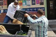 Entrega de mercados. Foto ilustrativa