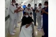 Paciente recuperado de COVID-19 en Envigado