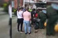 En medio de insultos, personal de la salud tuvo que salir de un barrio en Andes, Antioquia