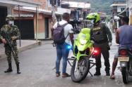 La mitad de los casos se reportaron en Medellín, donde los detenido fueron sorprendidos cometiendo hurto o porte ilegal de armas.
