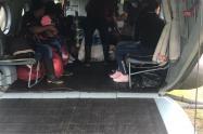 Evacuación familias